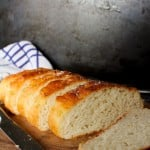 Easy Gluten Free French Bread - comes together in under an hour