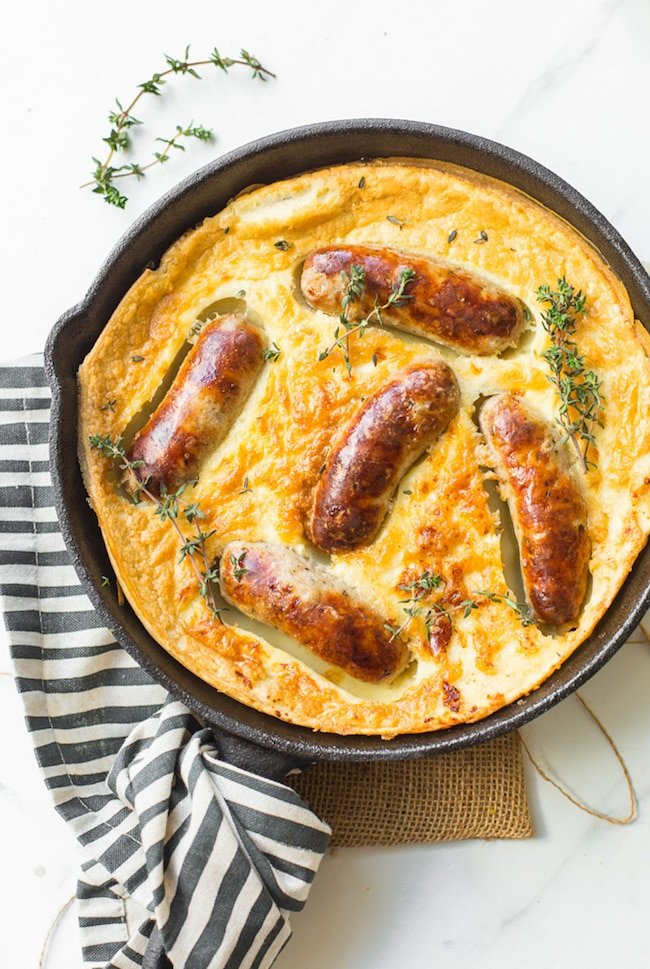Gluten Free Toad in the Hole