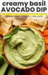 avocado dip pin graphic