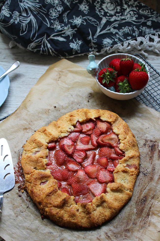 Strawberry Paleo Galette
