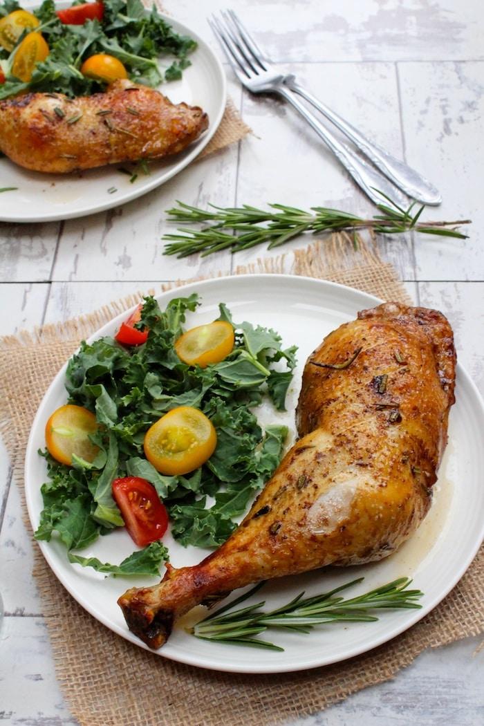 Balsamic Glazed Chicken Legs