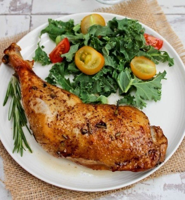 Balsamic Glazed Chicken Legs | Low Fodmap and Paleo |asaucykitchen.com
