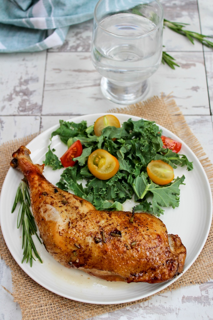 Balsamic Glazed Chicken Legs | Low Fodmap and Paleo |asaucykitchen.com