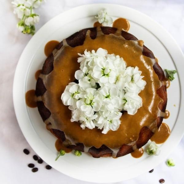 Chocolate Marbles Java Bundt Cake   www.asaucykitchen.com