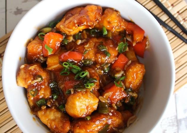 Paleo Sweet & Sour Chicken | www.asaucykitchen.com