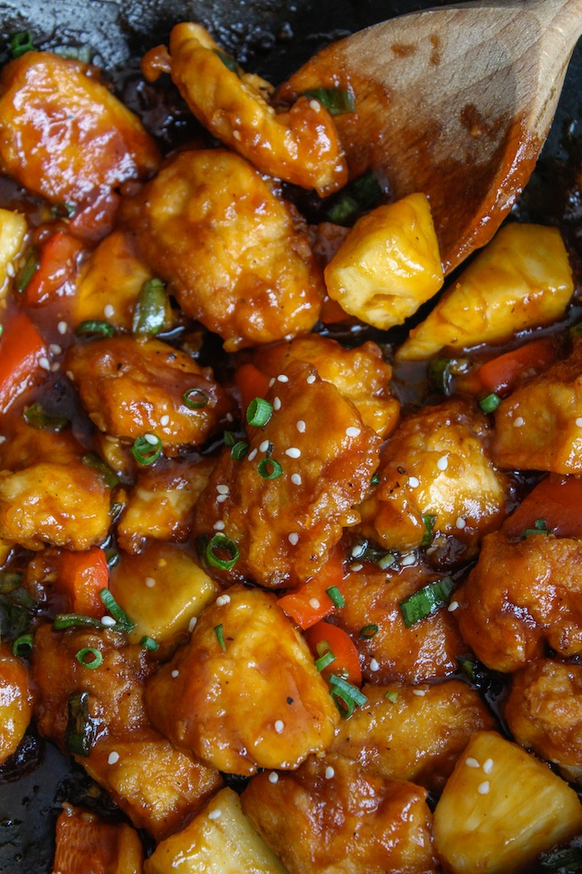 Sweet and Sour Chicken (Paleo & Low FODMAP)