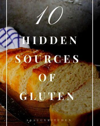 Hidden Gluten: 10 Sources of Cross Contamination | www.asaucykitchen.com