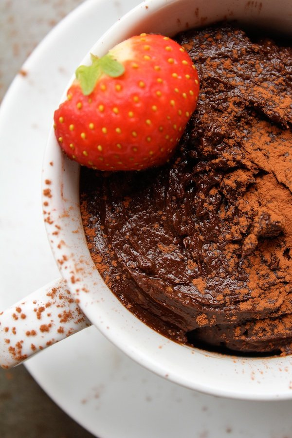 Chocolate Avocado Mousse (Dairy Free) | www.asaucykitchen.com