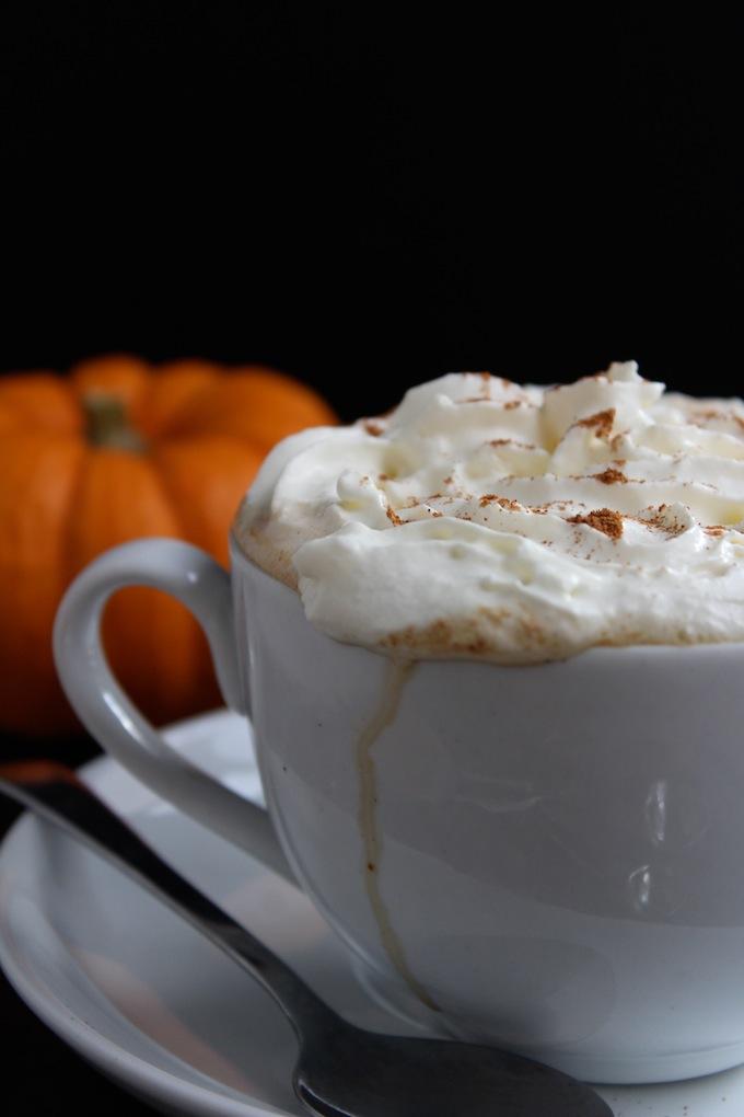 Dairy Free Pumpkin Spiced Latter + Pumpkin Spiked Latte