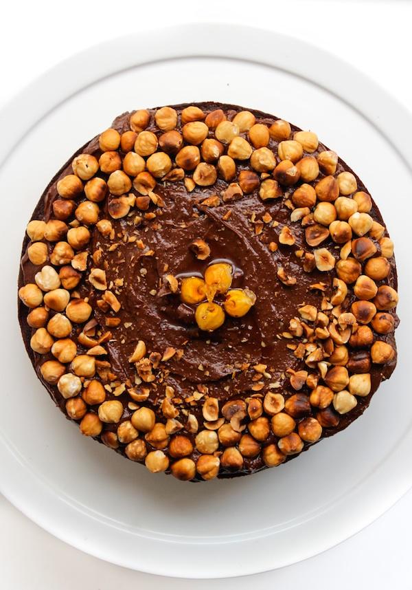 Grain Free & Dairy Free Chocolate Hazelnut Cake   www.asaucykitchen.com