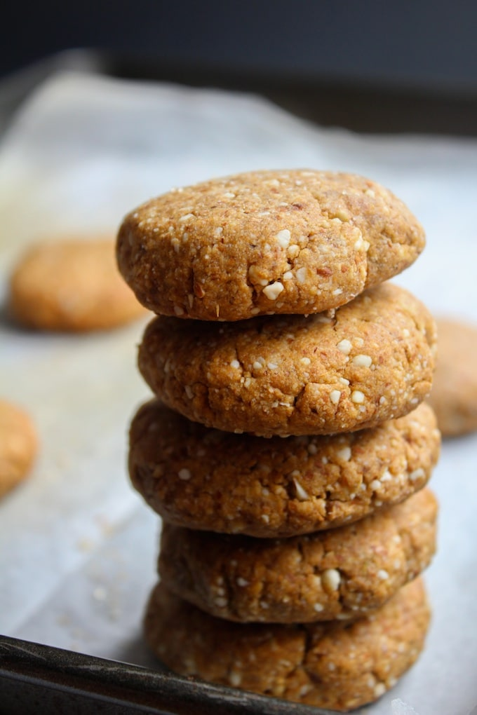 Grain Free Ginger Cookies   www.asaucykitchen.com