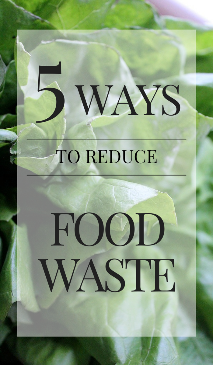 5 Ways to Reduce Food Waste- Small changes to make a big impact | www.asaucykitchen.com