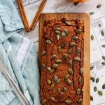 Paleo Pumpkin Bread | www.asaucykitchen.com