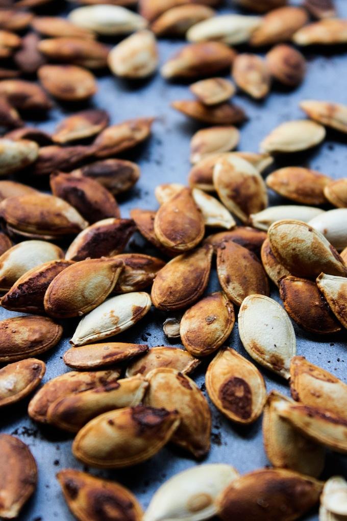 Tamari Roasted Pumpkin Seeds A Saucy Kitchen