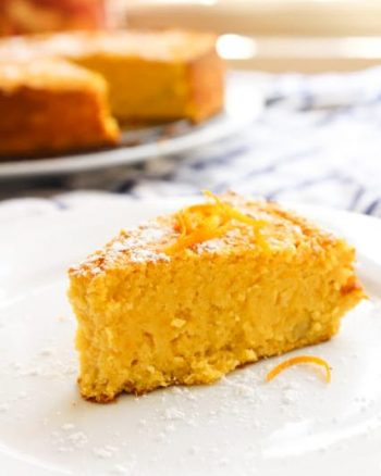 Grain Free Orange Cake | www.asaucykitchen.com