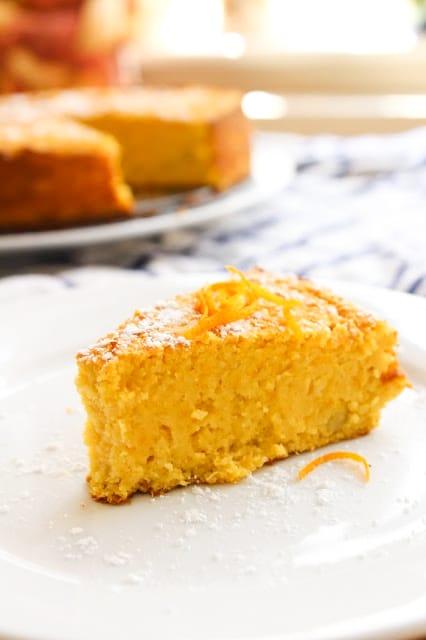 Grain Free Orange Cake | www.asaucykitchen.com