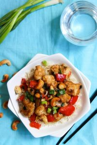 Whole 30 Cashew Chicken | www.asaucykitchen.com