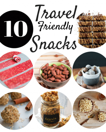 Snack smarter with these 10 healthier gluten free snacks that are travel friendly and easy to take anywhere. These gluten free travel snacks range from vegan, grain free, dairy free, and paleo.
