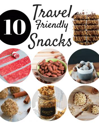10 Healthier Travel Friendly Snacks