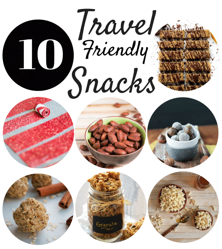 10 Healthier Travel Friendly Snacks
