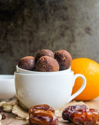 Homemade Chocolate Orange Nakd Bites