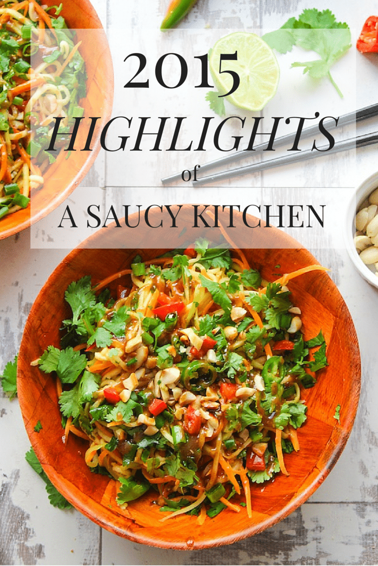 2015 Highlights from A Saucy Kitchen