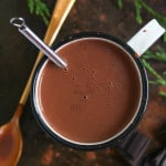 Coconut Milk Peppermint Hot Chocolate