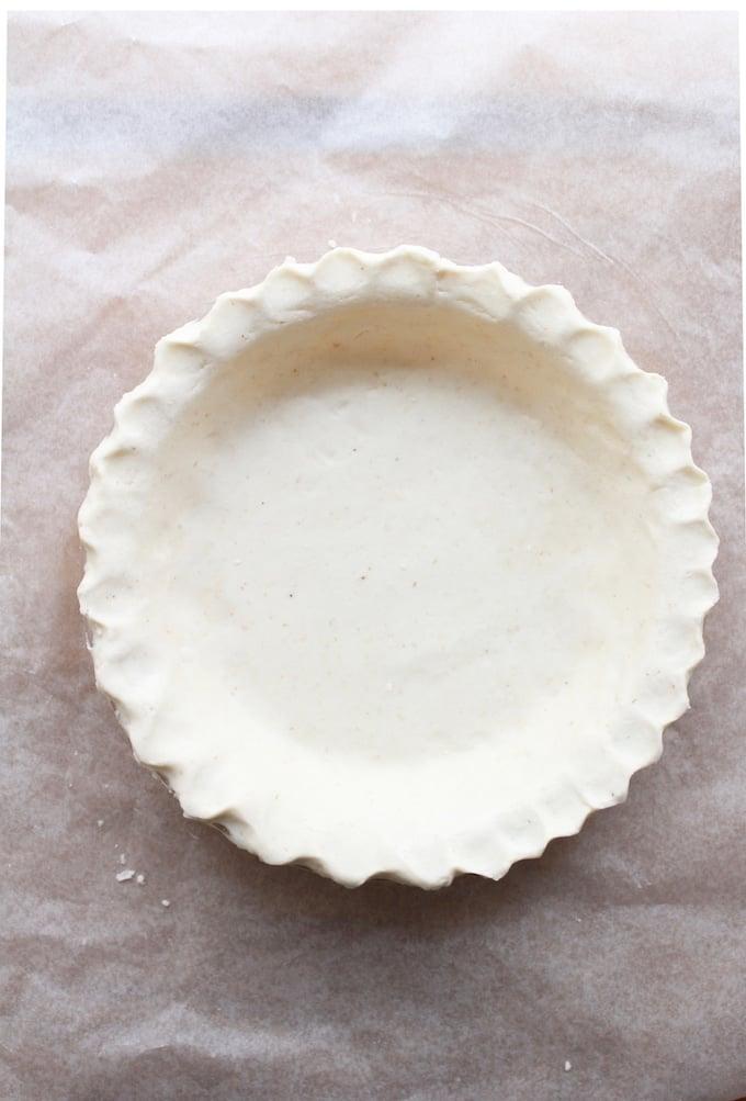 Gluten Free Coconut Oil Pie Crust A Saucy Kitchen