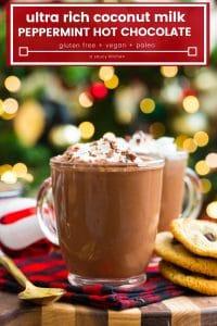 Coconut Milk Peppermint Hot Chocolate pin grahoc