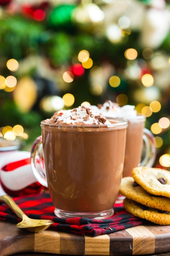 Coconut Milk Peppermint Hot Chocolate