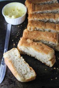 Gluten Free Vegan French Bread