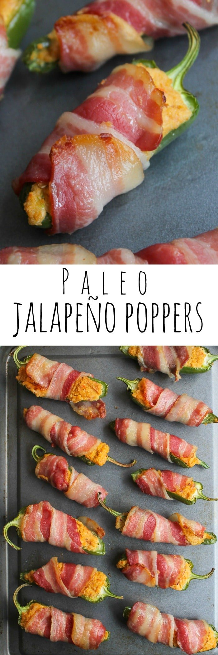 Paleo Jalapeño Poppers made with a cashew cream