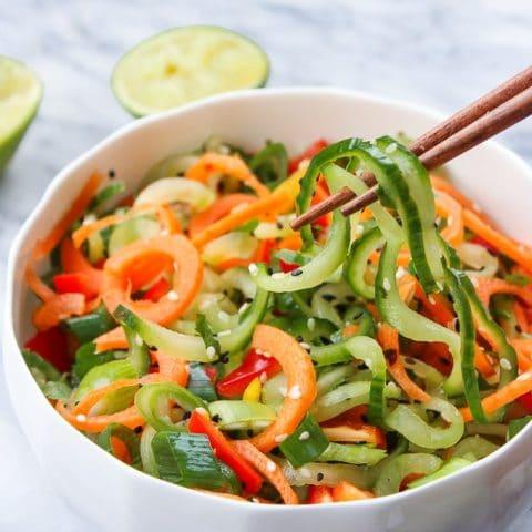 Cucumber Salad Recipe Asian