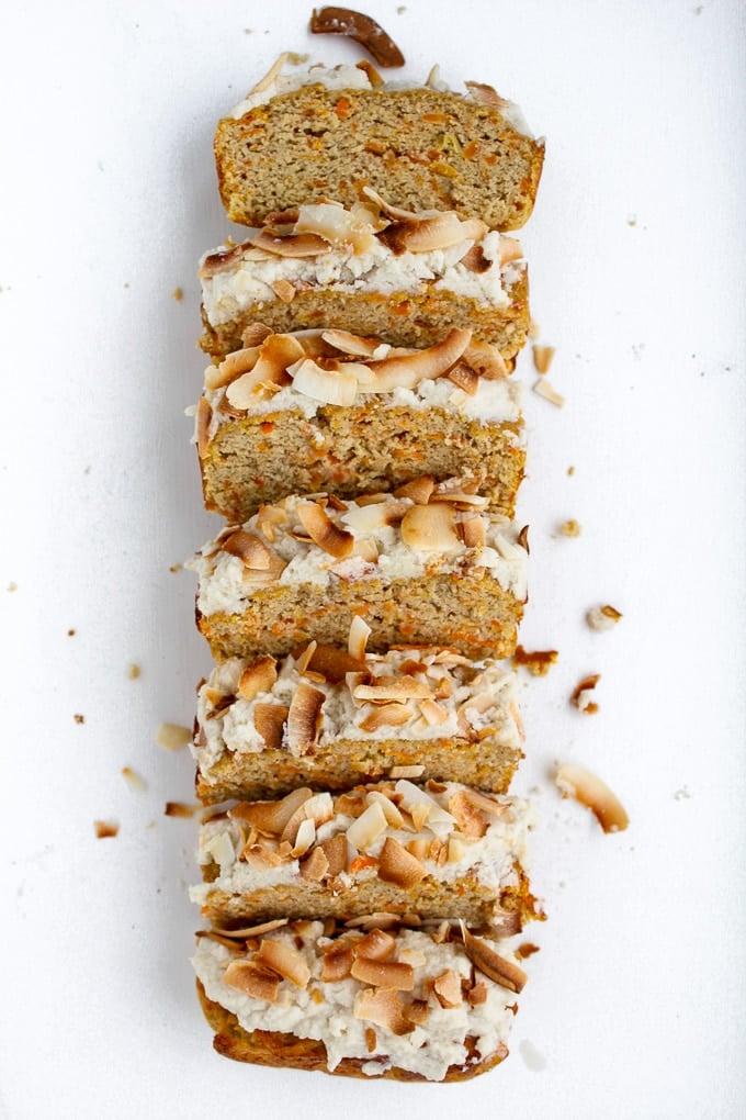 Nut Free Paleo Carrot Cake