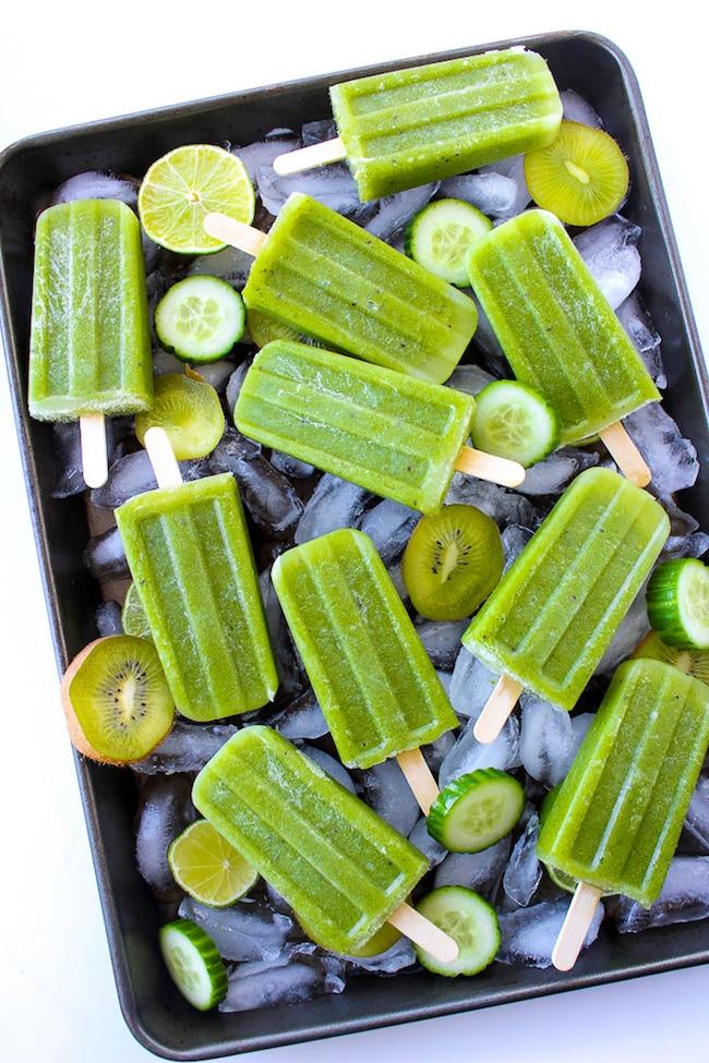 Cucumber Lime Mint Paletas