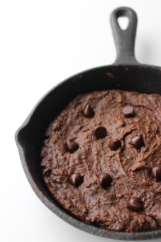 Paleo Avocado Brownies for Two | gluten free, dairy free, & paleo