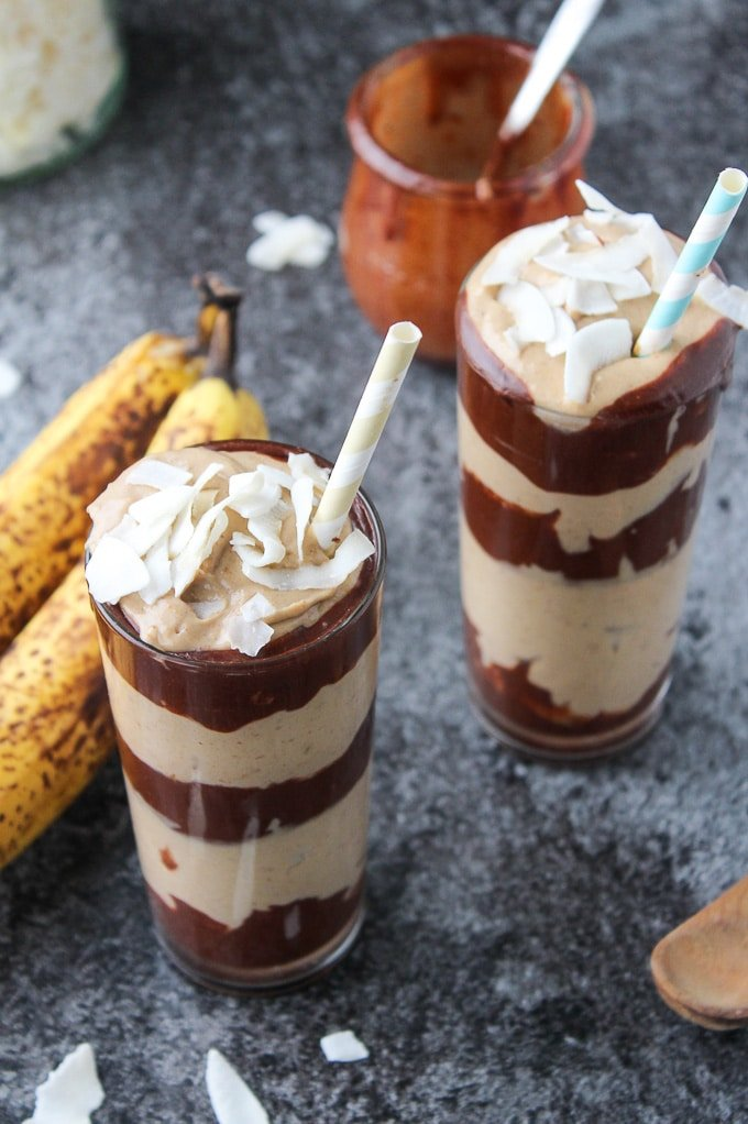 to #asaucykitchen on instagram if you try these peanut butter banana ...