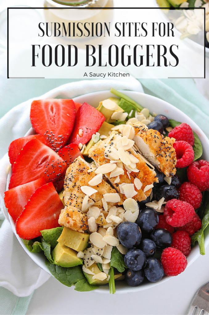 Submission Sites for Food Bloggers - A Saucy Kitchen