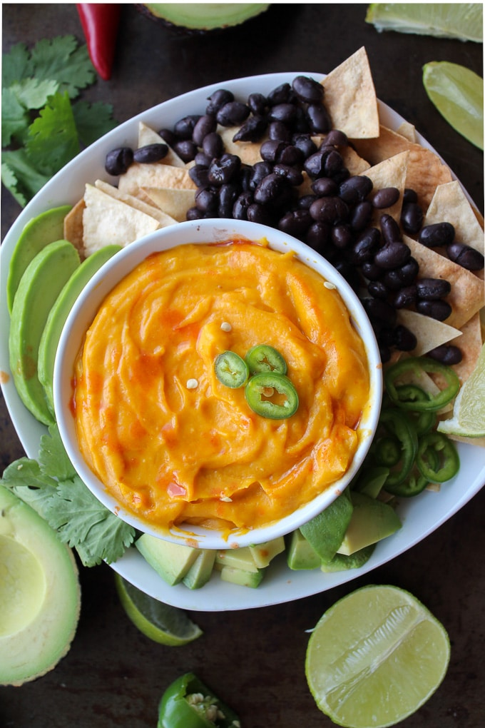 Vegan Nacho Cheese - dairy, nut, and soy free!