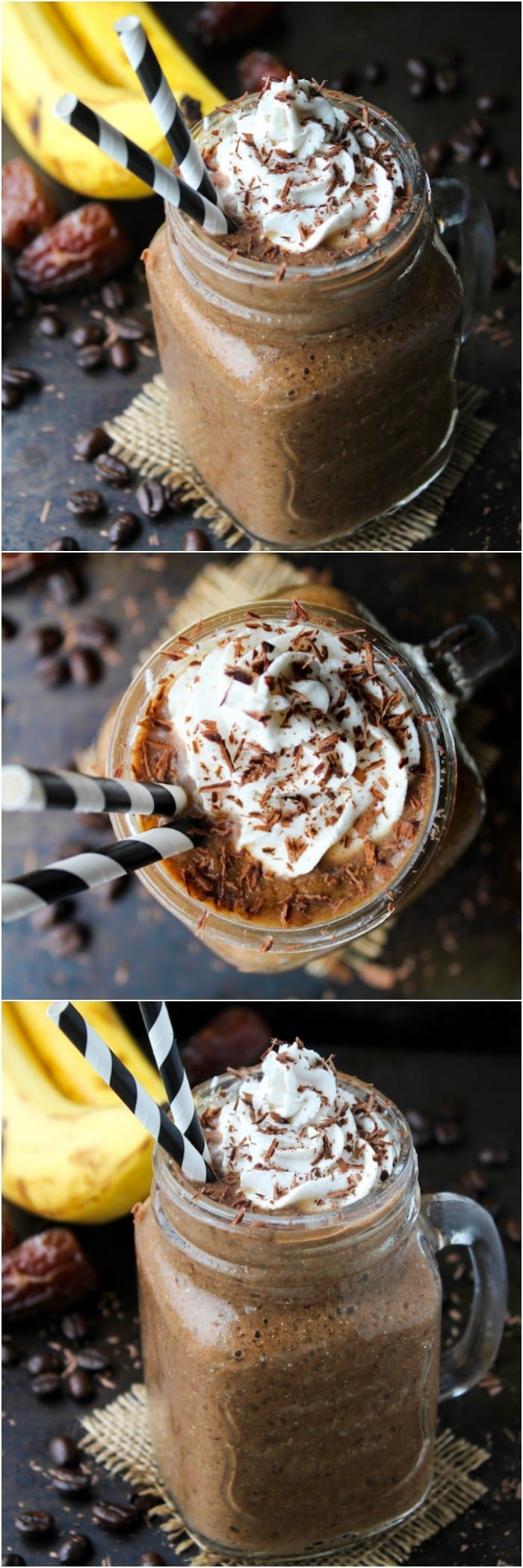 Chocolate Coffee Smoothie - A Saucy Kitchen