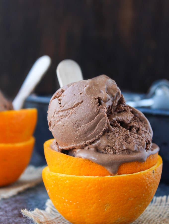 Chocolate Orange Ice Cream