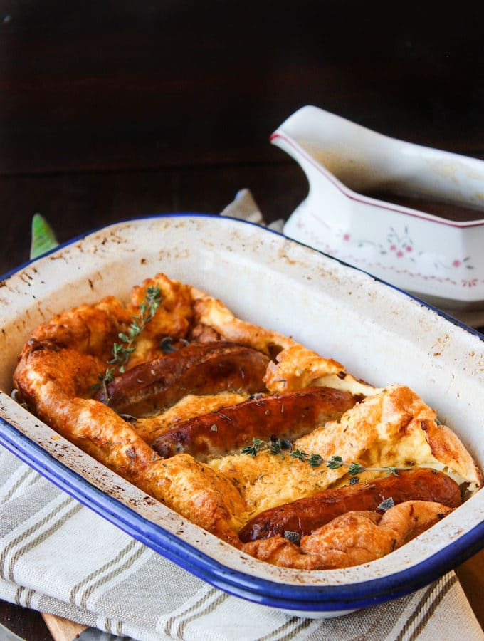 Grain Free Toad in the Hole & Onion Gravy