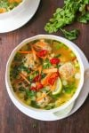 Thai Meatball Soup