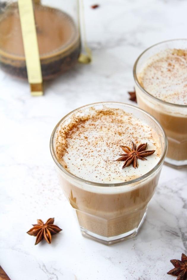 Homemade Chai Tea - a coffee house favorite made two way| Paleo + Vegan + Low FODMAP