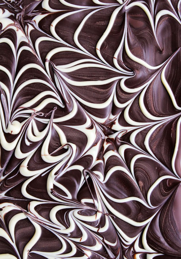Spider Web Chocolate Bark + Video