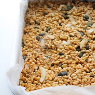 Super Food Vegan Rice Crispy Treats