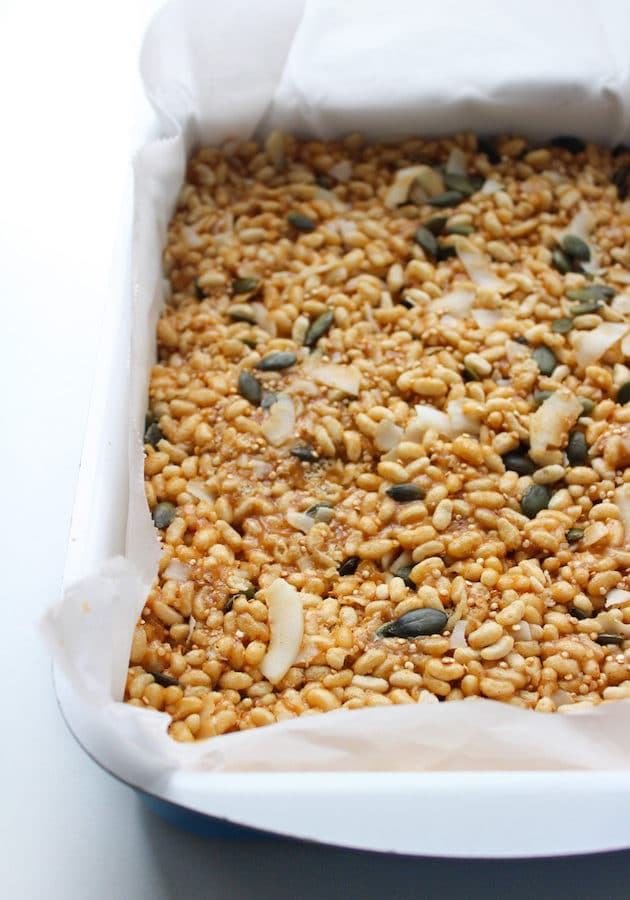 Superfood Vegan Rice Krispie Treats + Video