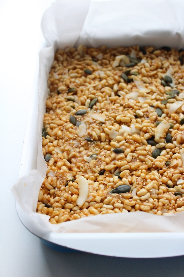 Superfood Vegan Rice Krispie Treats + Video