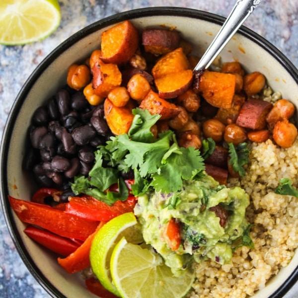 Chipotle Chickpea Burrito Bowl