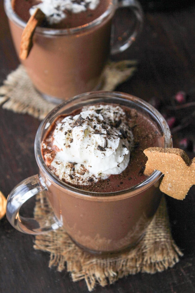 Gingerbread Vegan Hot Chocolate